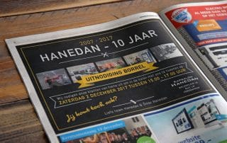 advertentie in de heerneveense courant